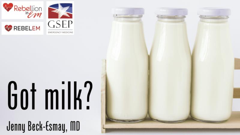Восстание на EM 2019: есть молоко? через Дженни Бек-Эсмей, доктор медицины