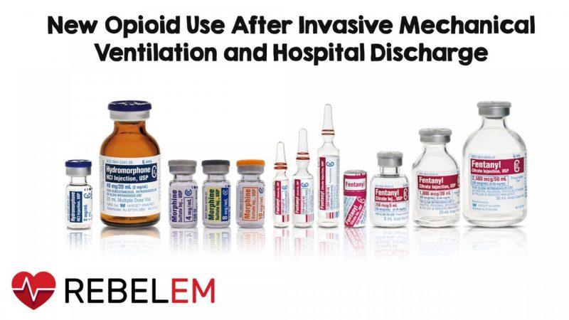 Использование новых опиоидов после инвазивной искусственной вентиляции легких и выписки из больницы